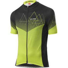 Löffler Peaks Full-Zip Bike Jersey Men, light green